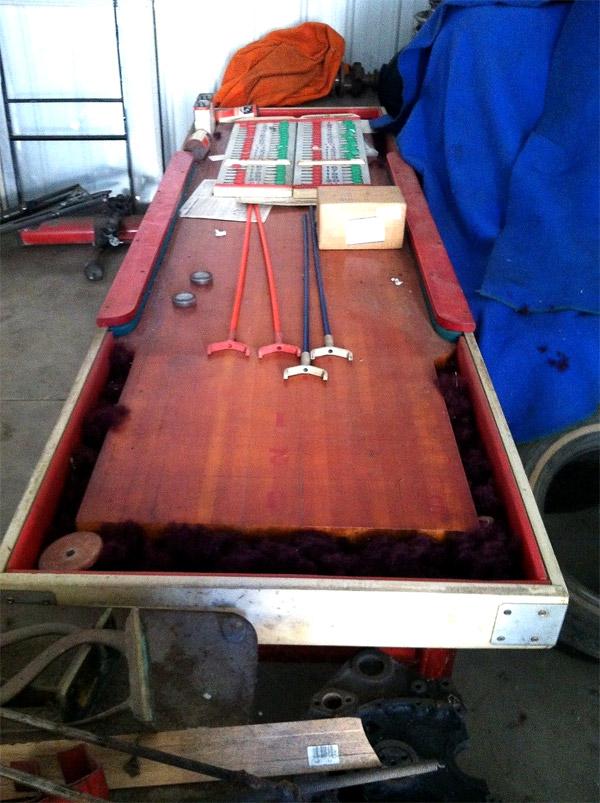 12 Foot National Shuffleboard Table